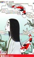Carte Prépayée Japon * MANGA * Comics * FEMME * KISS (16.741)  Japan Prepaid Card * TOSHO Karte * CINEMA * FILM - BD