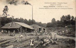 -ONZAIN - Scierie De La Gare - Adrien MORIN - - Autres Communes