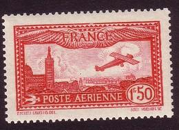 PA 5 - 1F50 Carmin - Neuf N** - Très Beau - Airmail