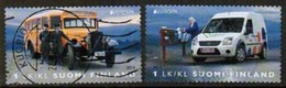2013 Finland, Europa Cept, Postal Vehicles Complete Set Used. - Finlande