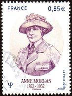 Oblitération Cachet à Date Sur Timbre De France N° 5123 - Anne Morgan - Used Stamps