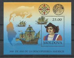 MOLDAVIA YVERT H/B 3   MNH  ** - Moldova