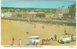 The Sands WESTON-SUPER-MARE Posted 1977 (Dennis, W193) [P0096/2/1D] - Weston-Super-Mare
