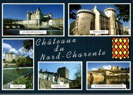 16 CHATEAUX DU NORD CHARENTE  MULTI-VUES - France