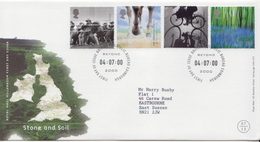 Great Britain Millennium Set On Used FDC - FDC