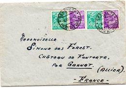 Env.de Suisse -1936-2 Autographes De WILLY MOHNSAM International De Basket-Ball-Champion Suisse -1934-35-36 - Autographes