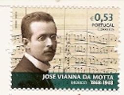 Portugal ** &  José Vianna Da Motta, Musician, 1868-1948, Values Of Portuguese History And Culture 2018 (9968) - Nuovi