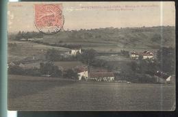 CPA Montreuil Aux Lions  - Moulin De Montbertoin - Côte Des Maillons - Circulée 1906 - Other Municipalities