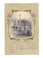 NIEDER - SCHLESIEN - ZOBTEN / SOBOTKA, Lützow-Denkmal, Dekorativ, 1905 - Schlesien