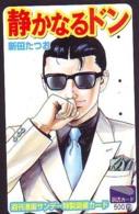 Carte Prépayée Japon * MANGA * Comics * (16.747)  Japan Prepaid Card * TOSHO Karte * CINEMA * FILM - BD