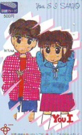 Carte Prépayée Japon * MANGA * Comics * (16.760)  Japan Prepaid Card * TOSHO Karte * CINEMA * FILM - BD