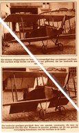LUCHTVAART..1928.. KLEINSTE VLIEGTUIG VERVAARDIGD DOOR INWONER VAN EVERE - Non Classificati