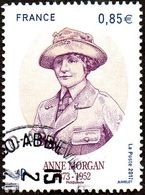 Oblitération Cachet à Date Sur Timbre De France N° 5123 - Anne Morgan - France