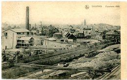 Lessines. Panorama 1890. Vue Générale De La Ville Prise De La Motte Tacquenier. Lessen. Circulé En 1919. Wagons. - Lessines