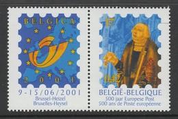 TIMBRE NEUF DE BELGIQUE - FRANCOIS DE TASSIS , CAPITAINE ET MAITRE DES POSTES EN 1501 N° Y&T 2900 - Poste