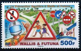 Wallis & Futuna 2019 - Prévention Routière - 1 Val Neuf // Mnh - Wallis-Et-Futuna