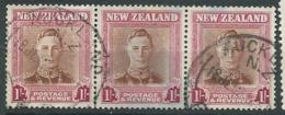 Nouvelle Zelande  Yvert  N° 291 Oblitéré Bande De 3  - Bce 15634 - Used Stamps