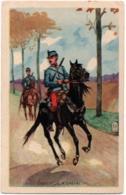 CPA Militaria - Chasseur à Cheval - Régiments