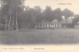 Hollandsch - Putte -  Bleduinen-Hof - Très Belle Carte Rare Avec Cachet  De J.B.Bernard Brigadist Des Douanes Anvers - Putte