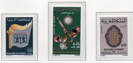 1973 - MAROCCO - MAROC - Yv:  Nr. 627+630+634 - NH - (UP121.1) - Marocco (1956-...)