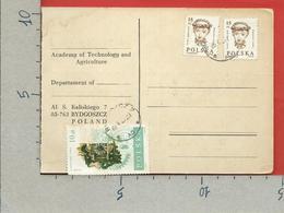 POLONIA - 1989 Cedola Di Commissione - Cartolina - ANN. 12 - 5 - 89 ROMA NOMENTANO - Polonia