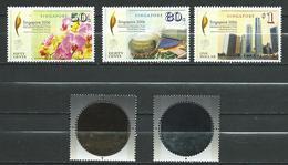 Singapore 2006 Flowers - Annual IMF Meeting. Coins .MNH - Singapur (1959-...)