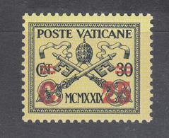 Vaticano 1931 - Soprastampato  ** - Neufs