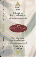 ISRAELE   KEY HOTEL   Crowne Plaza Eilat - Hotelkarten
