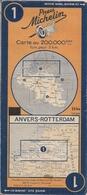 ANVERS-ROTTERDAM - CARTE ROUTIÈRE MICHELIN N° 1 (2) - Cartes Routières