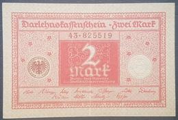 EBN12 - Germany 1920 Banknote 2 Mark P.59  WEIMAR REPUBLIC - VF - [ 3] 1918-1933: Weimarrepubliek