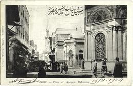 CPA LE CAIRE  (EGYPTE)  PLACE ET MOSQUEE NAHASSINE - Kairo
