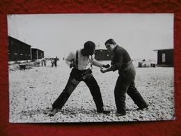 BOXE COMBAT BOXEUR CARTE PHOTO SUPERBE - Boxing