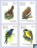 Sri Lanka Stamps 2017, Endemic Birds, Owl, MNH - Sri Lanka (Ceylon) (1948-...)