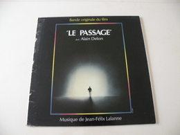 Le Passage Avec Alain Delon -(Titres Sur Photos)- Vinyle 33 T LP (musique Jean Félix Lalanne) - Soundtracks, Film Music