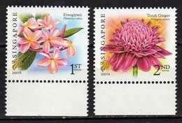 """Singapore 2007 Flowers - Inscription """"2007A"""".MNH - Singapour (1959-...)"""
