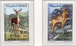 1972 - MAROCCO - MAROC - Yv:  Nr. 646/647 - NH - (UP121.2) - Marocco (1956-...)