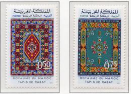 1972 - MAROCCO - MAROC - Yv:  Nr. 650/651 - NH - (UP121.2) - Marocco (1956-...)