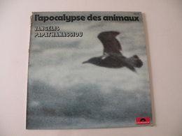 L'apocalypse Des Animaux De Frédéric Rossif -(Titres Sur Photos)- Vinyle 33 T LP (musique Vangelis) - Filmmusik