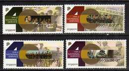 Singapore 2007 The 40th Anniversary Of National Service. MNH - Singapur (1959-...)