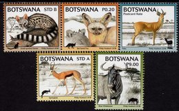 Botswana - 2018 - Kgalagadi Biodiversity - Mammals - Mint Definitive Stamp Set - Botswana (1966-...)