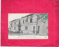 AY CHAMPAGNE  - 51 -  REVOLUTION En CHAMPAGNE 1911 - La Maison Gallois Incendiée Le 12 Avril 1911 - DELC1 - - Ay En Champagne