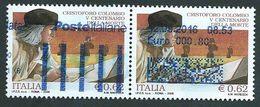 Italia 2006; Anniversario Morte Di Cristoforo Colombo, Coppia Usata. - 6. 1946-.. Repubblica
