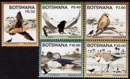 Botswana - 2018 - Kgalagadi Biodiversity - Birds - Mint Definitive Stamp Set - Botswana (1966-...)