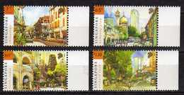Singapore 2007 National Day - Tourism.China Town,Little India,mosque,MNH - Singapur (1959-...)