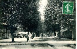 N°23 CH -cpa Caboug -avenue De Pont L'Evêquevers Le Marché- - Cabourg