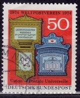 Germany, 1974, UPU Centenary, 50pf, Sc#1153, Used - [7] Federal Republic