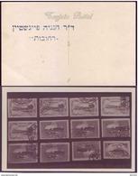 Israel Palestine Judaica Rehovot Postcard Blue Seal Of Dr. Hanania Feinstein - Palestine