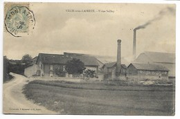 VILLE Sous LAFERTE Usine SEILLEY 1906 Aube Près Maranville Châteauvillain Forges Clairvaux Bayel Bar Sur Troyes Brienne - France