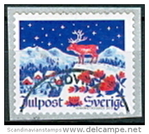 ZWEDEN 2013 Rolzegel Kerst GB-USED - Oblitérés