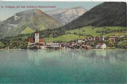 AK 0151  St. Wolfgang Am Wolfgangsee Mit Schafberg - Verlag Jurischek Ca. Um 1920 - St. Wolfgang